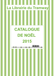 Couverture catalogue noël 2015