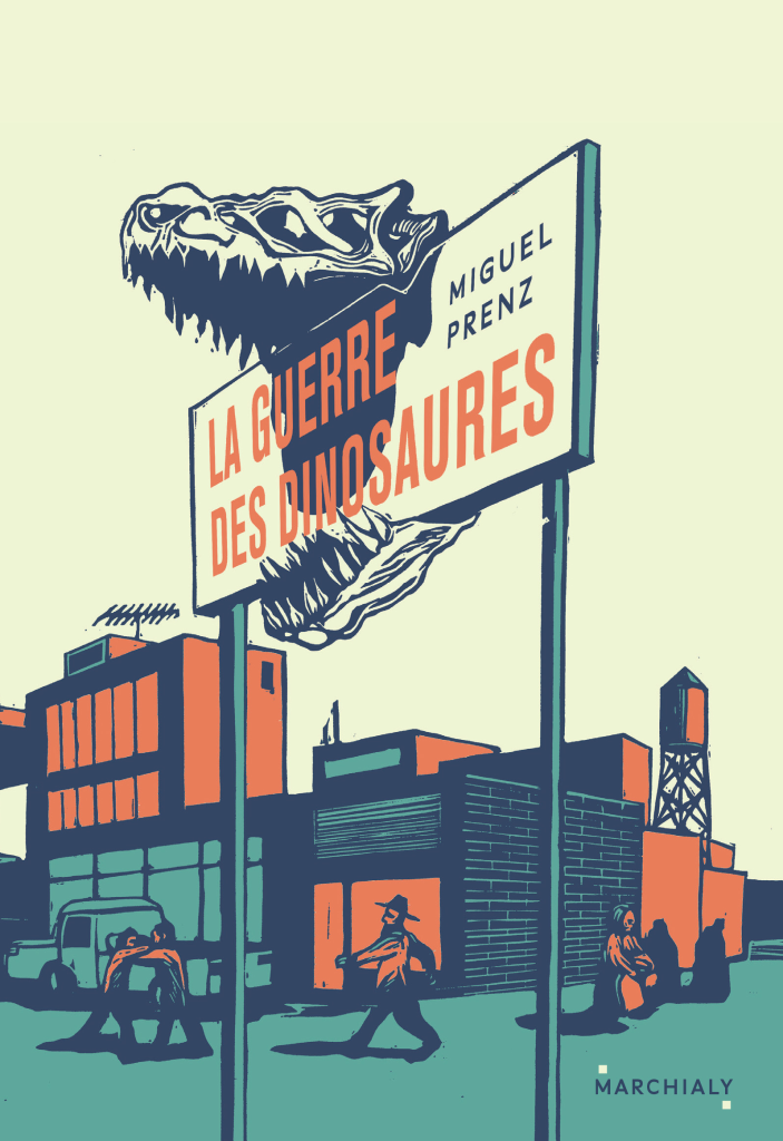 Miguel Prenz, La guerre des dinosaures